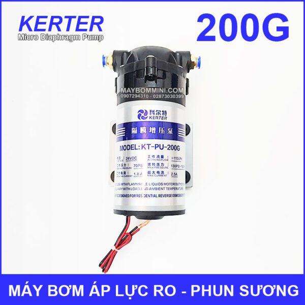 May Bom Ap Luc 24V Phun Suong RO 200G