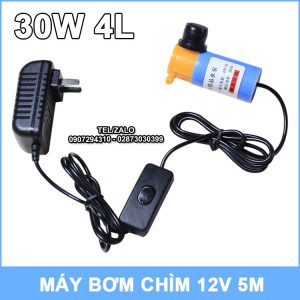 Bo May Bom Nuoc Mini 30W 4L