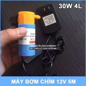 May Bom Chim 12v 30w 4l