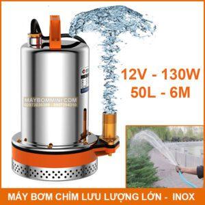 May Bom Chim Luu Luong Lon Inox