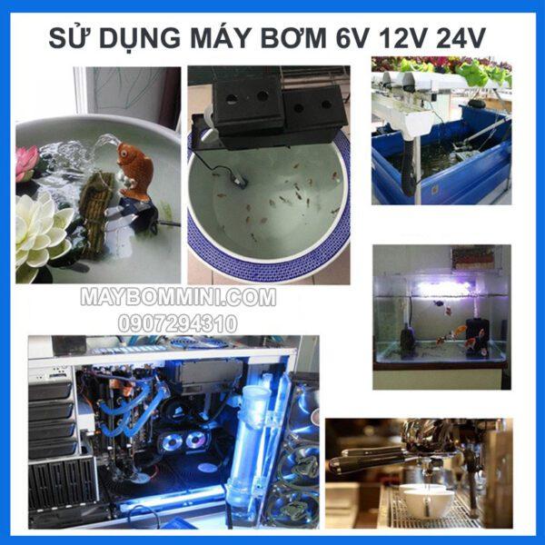 Su Dung May Bom Nuoc Mini Jt750