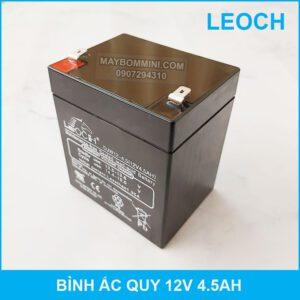 Ac Quy 12v 4.5ah Leoch