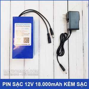 Pin Sac 12v 18ah Kem Sac Pin