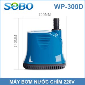 Kich Thuoc May Bom Chim SOBO 300D