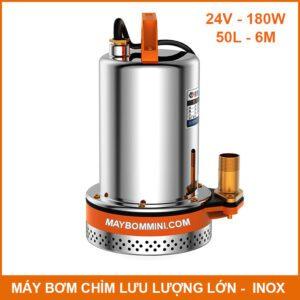 May Boom Chim Nuoc Thai Nuoc Ngap 24v