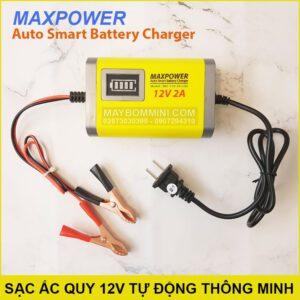Sac Binh Ac Quy 12v Tu Dong Thong Minh 2A