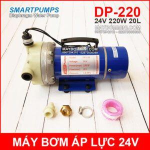 May Bom Ap Luc 24V 220W 20L Smartpumps