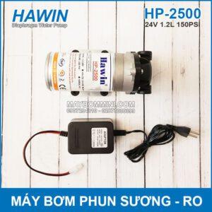 May Bom Phun Suong Va RO 24V