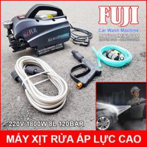 May Rua Xe Ap Luc Cao 220V 1800W 8L 120bar Fuji