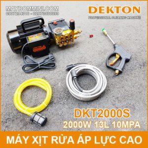 May Rua Xe Ap Luc Cao 220V 2000W 13L 10mpa Dekton