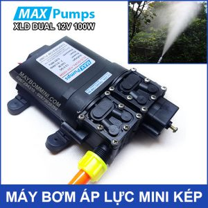 Ban May Bom Nuoc Mini Ap Luc 12v 100w Smartpumps
