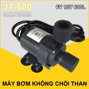 May Bom Mini Khong Choi Than 12v JT 600