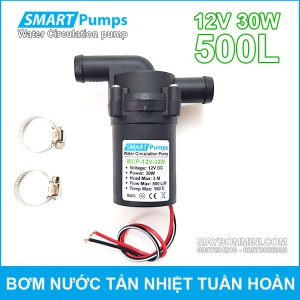 May Bom Nuoc Tan Hiet Tuan Hoan 12V 30W 500L Smartpumps