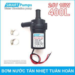 May Bom Nuoc Tan Hiet Tuan Hoan 24V 18W 400L Smartpumps