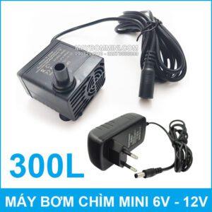 May Bom Chim Mini DC 808 Kem Nguon