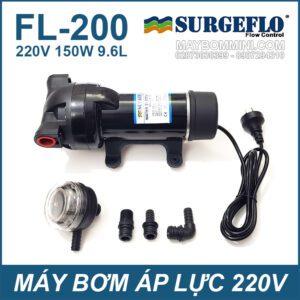 May Bom Ap Luc SURGEFLO 220V 150W FL200